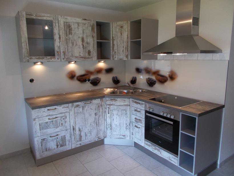 Küchenzeile einfach  Montierte Küchen • CLEVERMAXX – Marktoberdorf und Kempten – Möbel ...